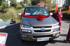 2011款江淮 瑞铃 106马力 2.5L柴油 大双排皮卡(4JB1) 卡车图片