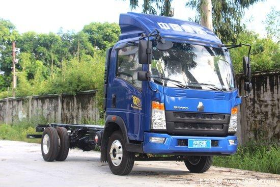 中国重汽HOWO 悍将 2019款科技版 116马力 4.165米单排栏板轻卡(ZZ1047F3315E145)