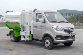 程力新动力 3.4T 4.72米单排纯电动自装卸式渣滓车