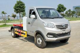 程力新动力 3.5T 4.5米单排纯电动车厢可卸式渣滓车