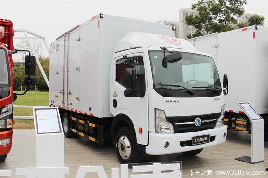 東風凱普特 K6E EV350 單排純電動廂式輕卡86.016kWh