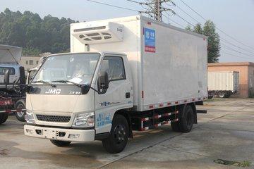 江铃 顺达窄体 116马力 4.15米冷藏车(伴君长兴牌)(AAA5040XLC)