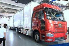 一汽解放 新J6P 460马力 6X2R 9.4米中置轴载货车