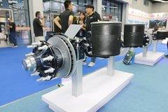 梅州HSM10010 400K ALO 10吨单胎空气悬挂(鼓式)