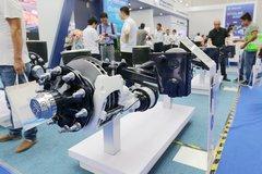 梅州HZM10010 400K ALM 10吨双胎空气悬挂(鼓式)