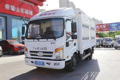 唐骏欧铃 T3系列 110马力 4.15米单排仓栅式轻卡(ZB5042CCYJDD6V) 卡车图片