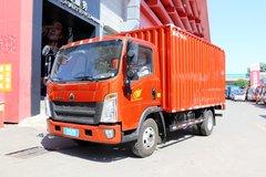 中国重汽HOWO 悍将 156马力 4.15米单排厢式轻卡(ZZ5047XXYF341CE145A) 卡车图片