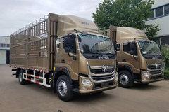 福田 奥铃大黄蜂 210马力 6.8米排半仓栅式载货车(BJ5186CCY-A1) 卡车图片