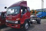 江淮 骏铃V8 170马力 5.2米排半仓栅式轻卡(HFC5141CCYP91K1C6V)图片