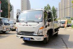江淮 康铃J5 快运版 115马力 3.85米排半栏板轻卡(HFC1045P92K1C2V)