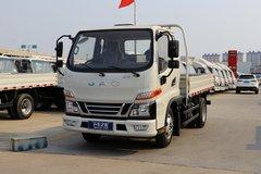 江淮 骏铃V3 109马力 3.37米排半栏板轻卡(HFC1040P93K1B4V) 卡车图片