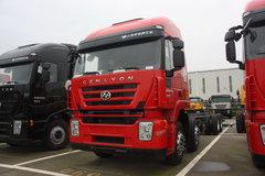 红岩 杰狮重卡 290马力 8X4 载货车(专用车底盘)(CQ5134XXYHMG466VP) 卡车图片