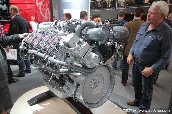 斯堪尼亚DC16 118 652马力 16L 国五 柴油发动机