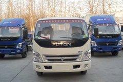 福田 奥铃TX 95马力 4.3米单排栏板轻卡(BJ1059V9JW6) 卡车图片