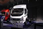 现代商用车 泓图500 154马力 5.82米排半仓栅式轻卡(CNJ5140CCYQDA45V)