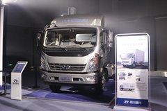 现代商用车 泓图500 154马力 4X2 3.835米排半栏板轻卡(法士特8挡)(CNJ1043QDA33V) 卡车图片