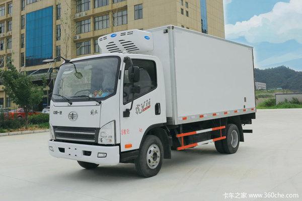回馈客户十堰解放虎V冷藏车仅售12.6万