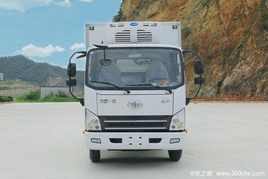 解放 虎VN 130马力 4X2 4.05米冷藏车(CA5041XLCP40K61L2E6A84)