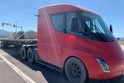 特斯拉 Semi重卡 300英里版 电动卡车