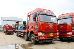 一汽解放 J6P 山区版 350马力 8X4 平板运输车(神狐牌)(HLQ531LTPBCA5)