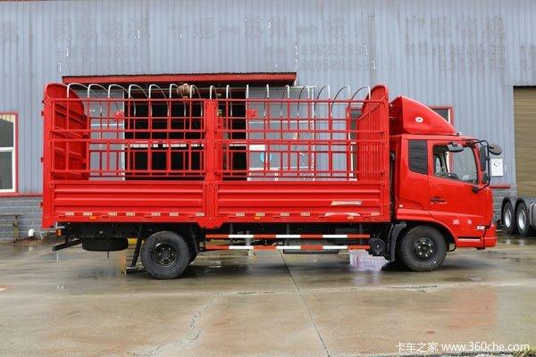 东风商用车 天锦中卡 140马力 4X2 7.1米栏板载货车(D