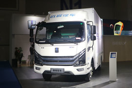 吉利远程 Re500 4.5T 豪华版 4.14米单排增程式电动厢式轻卡25.9kWh