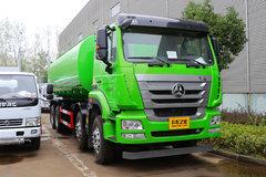 重汽豪瀚 J5G 340马力 4X4 污泥自卸车(润知星牌)(SCS5311ZWXZZ)