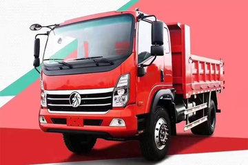 中国重汽成都商用车(原重汽王牌) 腾狮 160马力 4X2 4.14米自卸车