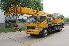 森源重工 170马力 4X2 10吨五节臂起重机(SMQ5163JQZ)