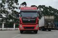 东风商用车 天龙VL重卡 350马力 8X2 9.5米冷藏车(国六)(DFH5310XLCAX8)图片