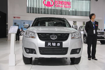 长城 风骏5 2013款 欧洲版 领航版 两驱 2.8T柴油 大双排皮卡