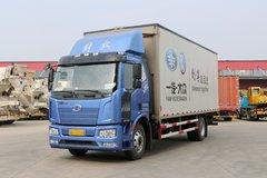 一汽解放 J6L中卡 180马力 7.7米翼开启厢式载货车(FXC5160XYKP62L4E5) 卡车图片