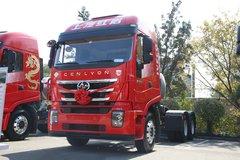 上汽红岩 杰狮C6重卡 440马力 6X4 LNG牵引车(国六)(CQ4257HD12384T) 卡车图片