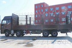 一汽解放 新J6P重卡 重载型 460马力 8X4 9.5米仓栅式载货车(CA5310CCYP66K24L7T4E5) 卡车图片