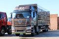 一汽解放 新J6P重卡 重载型 460马力 8X4 9.5米仓栅式载货车