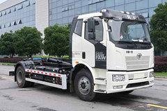 一汽解放 J6L 4X2纯电动车厢可卸式垃圾车(中联牌)(ZBH5180ZXXCABEV)