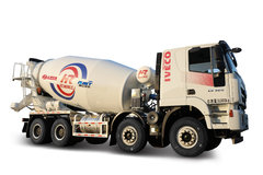 红岩瑞江 杰狮M500 320马力 8X4 7.88方混凝土搅拌车(瑞江牌)(WL5310GJBCQ30)
