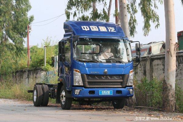 中国重汽HOWO 悍将 科技版 150马力 4.15米单排厢式轻卡(国六)