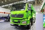 陕汽重卡 德龙新M3000  350马力 8X4 6.5米LNG自卸车(SX3319HD346TL)图片