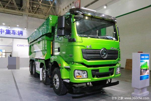 陕汽重卡 德龙新M3000 城建加强版 350马力 8X4 5.8米自卸车(SX5310ZLJMB246B)