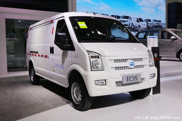 瑞驰 EC35II 2019款 标准型 2.6T 4.5米纯电动封闭货车41.86kWh