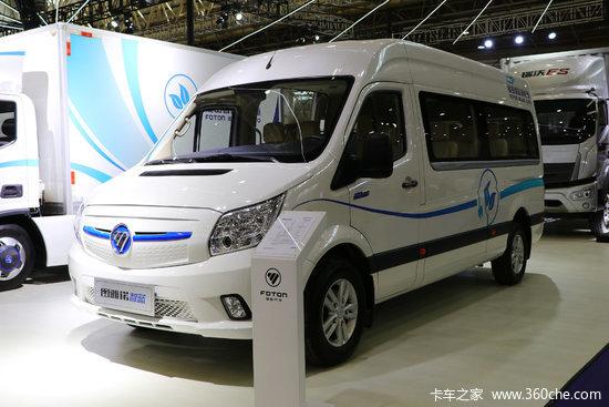 福田 图雅诺智蓝 4.25T 10-14座 5.99米纯电动轻型商务版客车(续航350km)79.92kWh