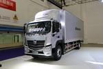 福田 欧马可S5系 220马力 8.1米排半厢式载货车(国六)(BJ5166XXY-2A)图片