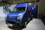 南京依维柯 欧胜运瑞系列 2020款 146马力 3.0T自动 3座 加长轴高顶封闭货车图片