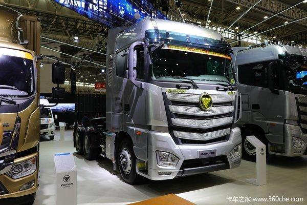 福田 欧曼EST-A 6系重卡 穿越版 510马力 6X4 AMT自动挡牵引车