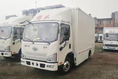 解放 J6F 4.5T 4.16米單排廂式純電動輕卡(CA5044XXYP40L2BEVA84)81.1kWh圖片