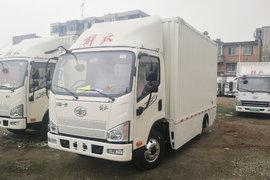 解放 J6F 4.5T 4.16米單排廂式純電動輕卡81.1kWh