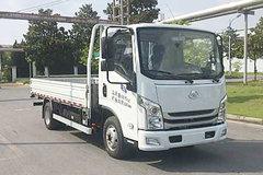 上汽跃进 EC100-33 4.5T级 4.2米单排纯电动栏板式载货车(SH1047ZFEVNZ4)81.14kWh