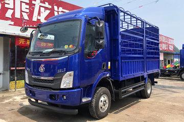 东风柳汽 乘龙L3 160马力 4X2 4.2米单排仓栅式载货车