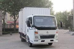 中国重汽HOWO 悍将 82马力 3.3米单排厢式轻卡 卡车图片